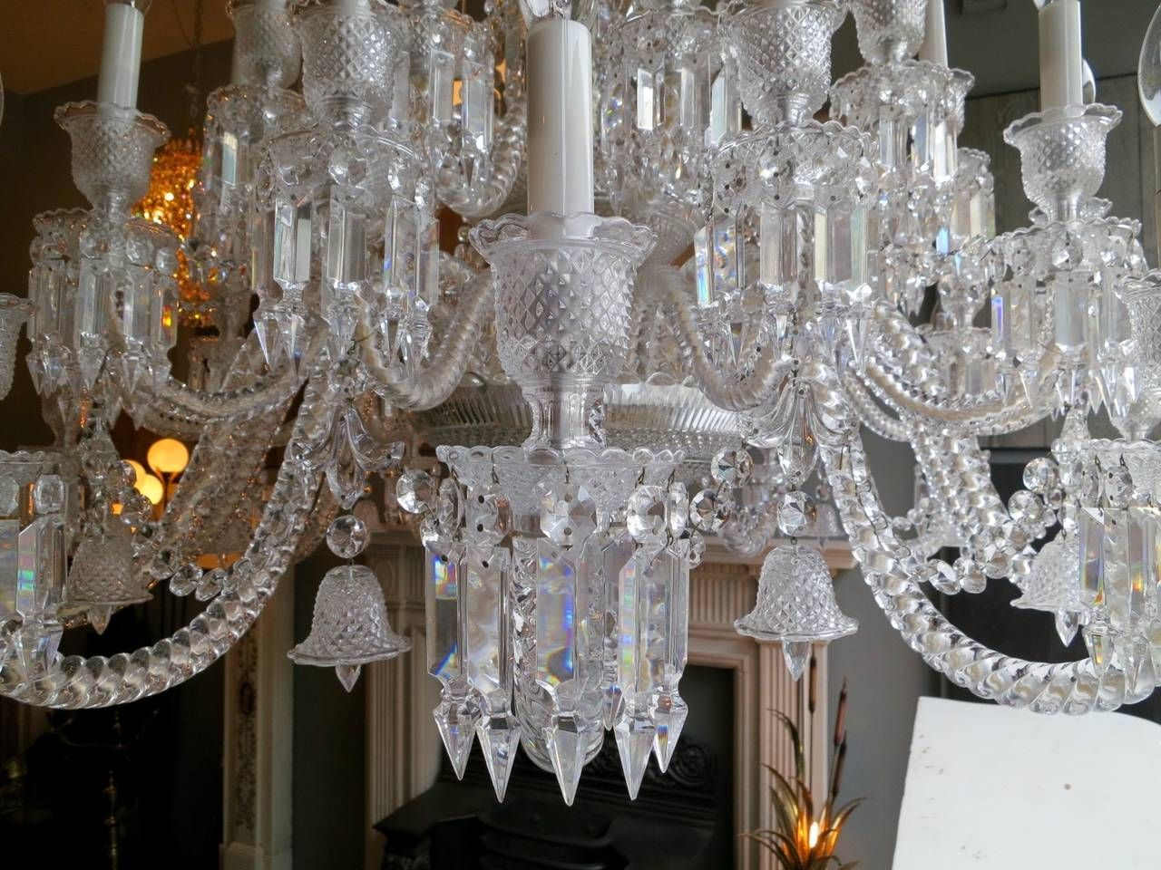Large Thirty Six Arm Baccarat Zenith Chandelier Designed By Philippe Starck 9