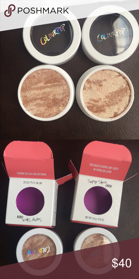 Churro LE Colourpop Highlight (2) BNIB Never swatched. Have two of them. Colourpop Makeup