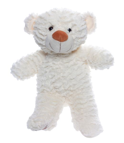 Recordable Teddy Bear Walmart, Crinkles L Ours 16 White Teddy Bear Teddy Bear Party Teddy Bear