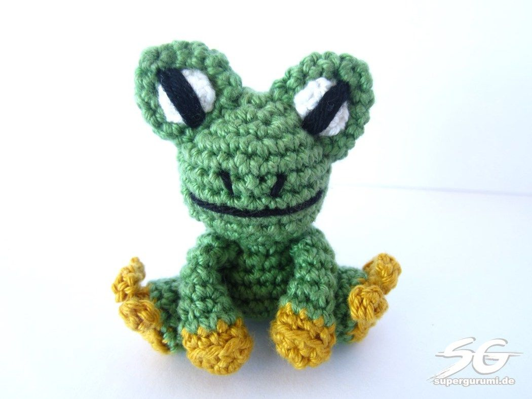 Amigurumi Frosch häkeln | Crochet Flog~Free patterns | Pinterest ...