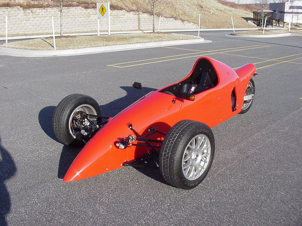 indy style reverse trike sleek and