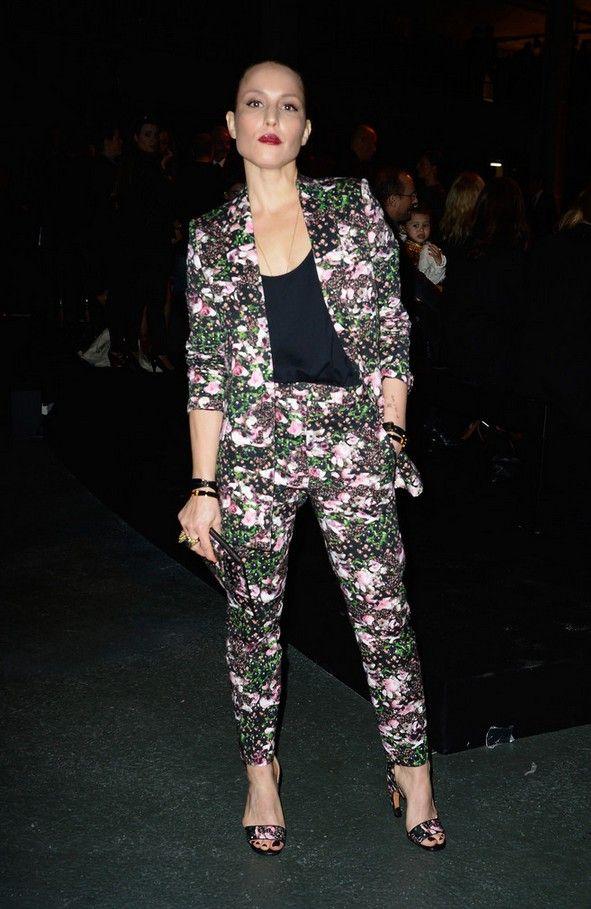 Floral Womens Pant Suit