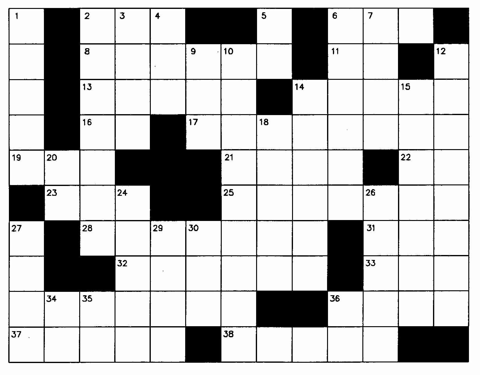 Blank Crossword Puzzle Maker in 2020 (With images