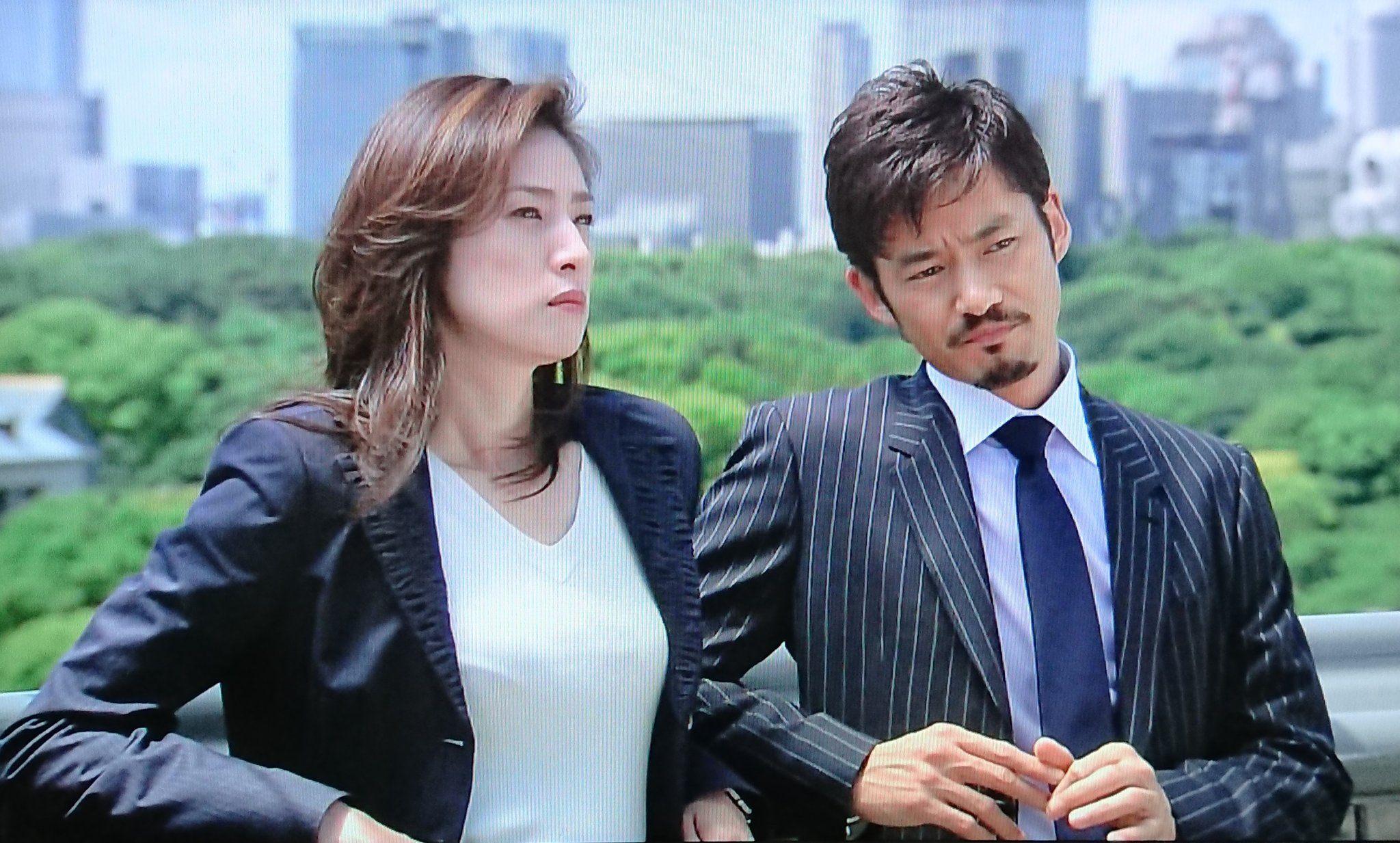 竹野内豊 & 天海祐希 - BOSS | 天海祐希, Boss ドラマ, 天海祐希 宝塚