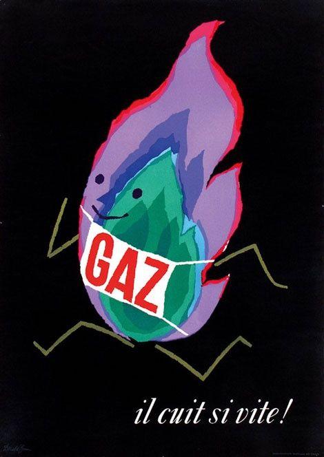 Donald Brun gaz poster