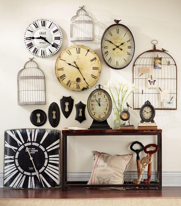 Regalo para dar relojes de la poca reloj decoraci n hogar y hogar Relojes de decoracion