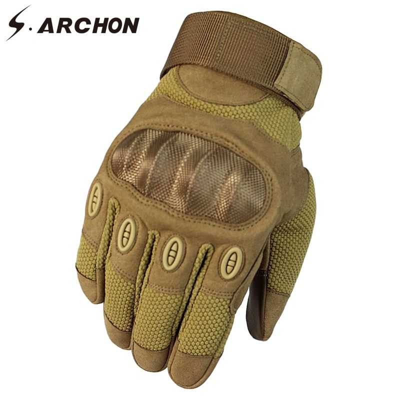 Mens Anti-Slip Tactical Sports Gloves Bicycle Riding Half Full Finger Gloves