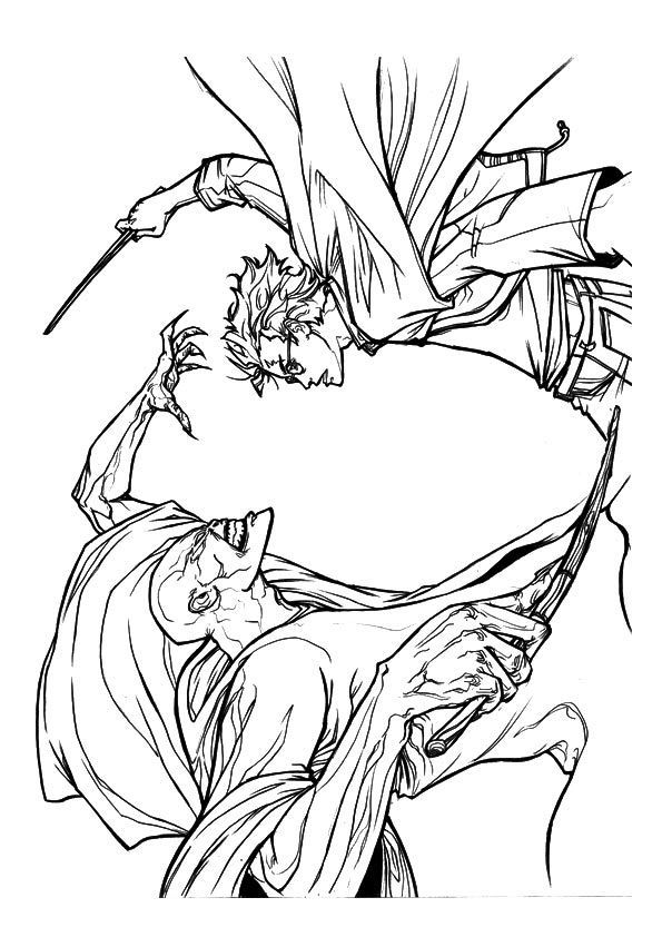 Print Coloring Image Momjunction Harry Potter Art Drawings Coloring Pages Harry Potter