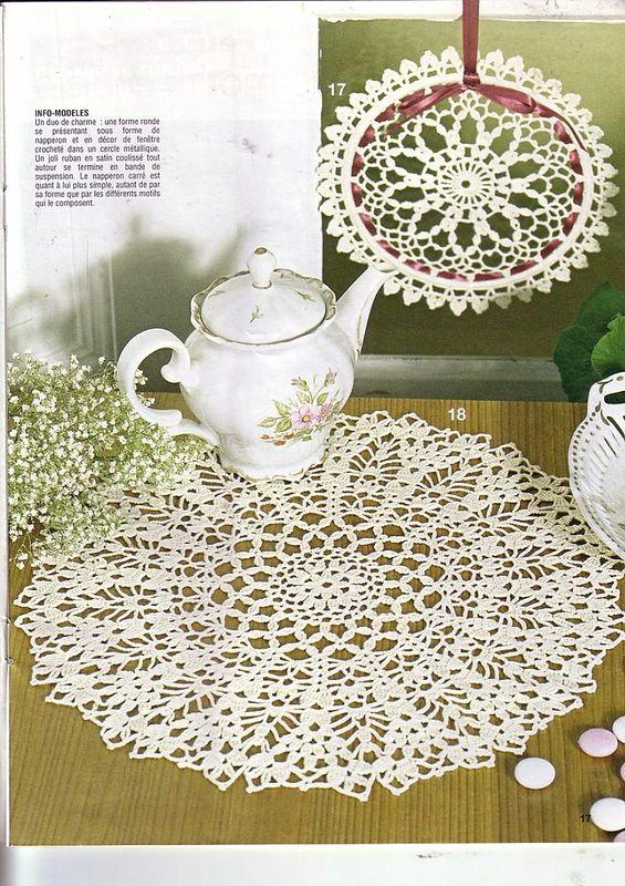 Elena Crochet D\'Art 35 | Carpeta, Tapetes y Ganchillo