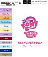 Mlp Fim Soundboard V4 3 Old By Kyrospawn On Deviantart Mlp My Little Pony Friendship Deviantart