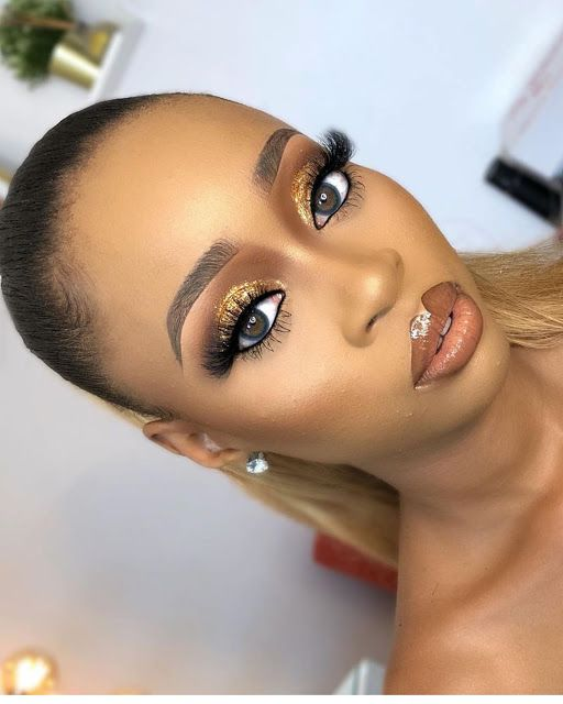 2019 Special Makeup Ideas for Dark Skin Women - Naija's Daily #darkskingirls