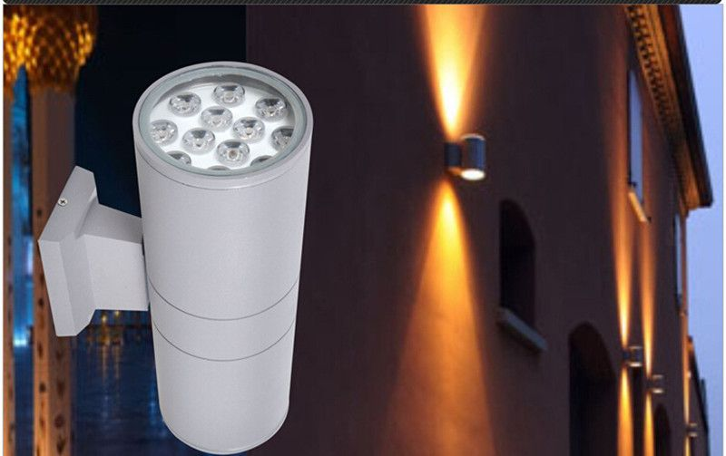 Lampade A Sospensione Allaperto : High quality led lighting wall lamp w up and down according to