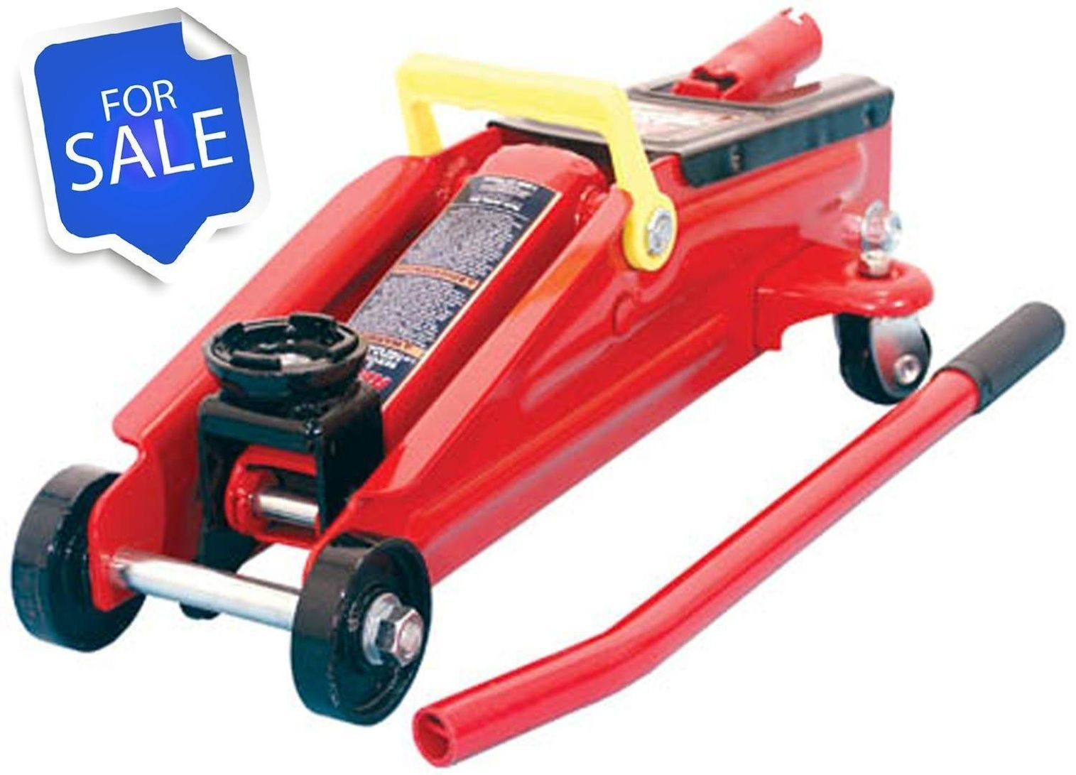 Torin Big Red Hydraulic Trolley Floor Jack 2 Ton Capacity
