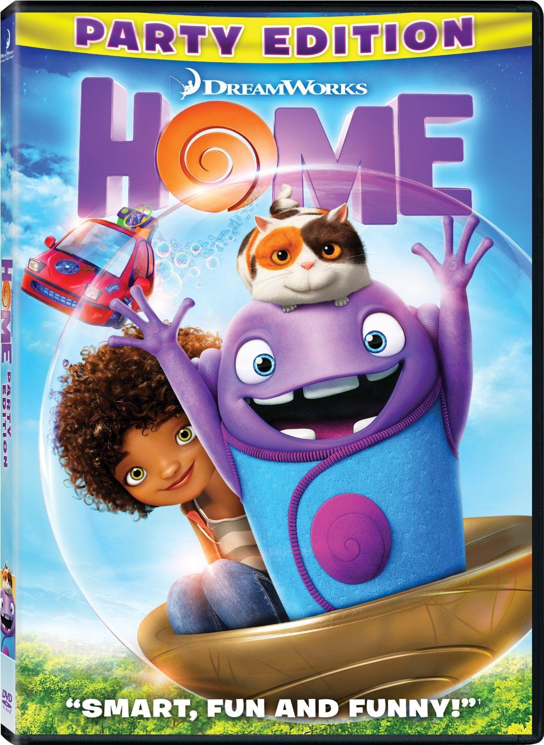 Home DVD Only 7! (reg. 19.98) Dreamworks home, Home