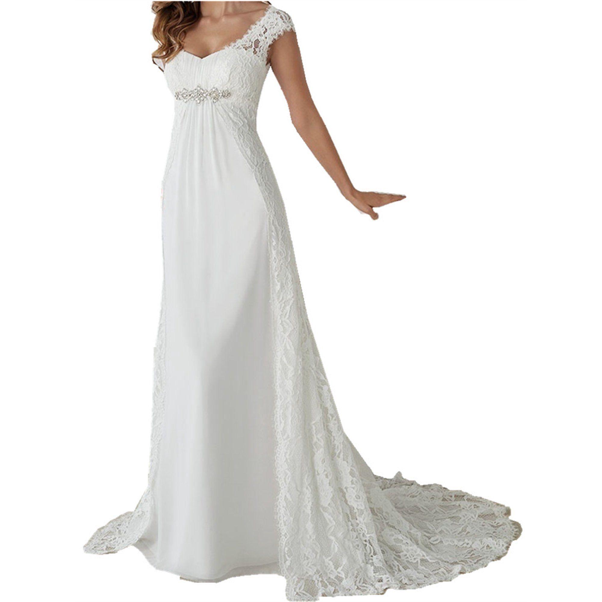 Sysea Lace Stitching Women White Pure Floor Length Wedding Dress Walmart Com Floor Length Wedding Dress Casual Beach Wedding Dress Buy Wedding Dress Online [ 2000 x 2000 Pixel ]
