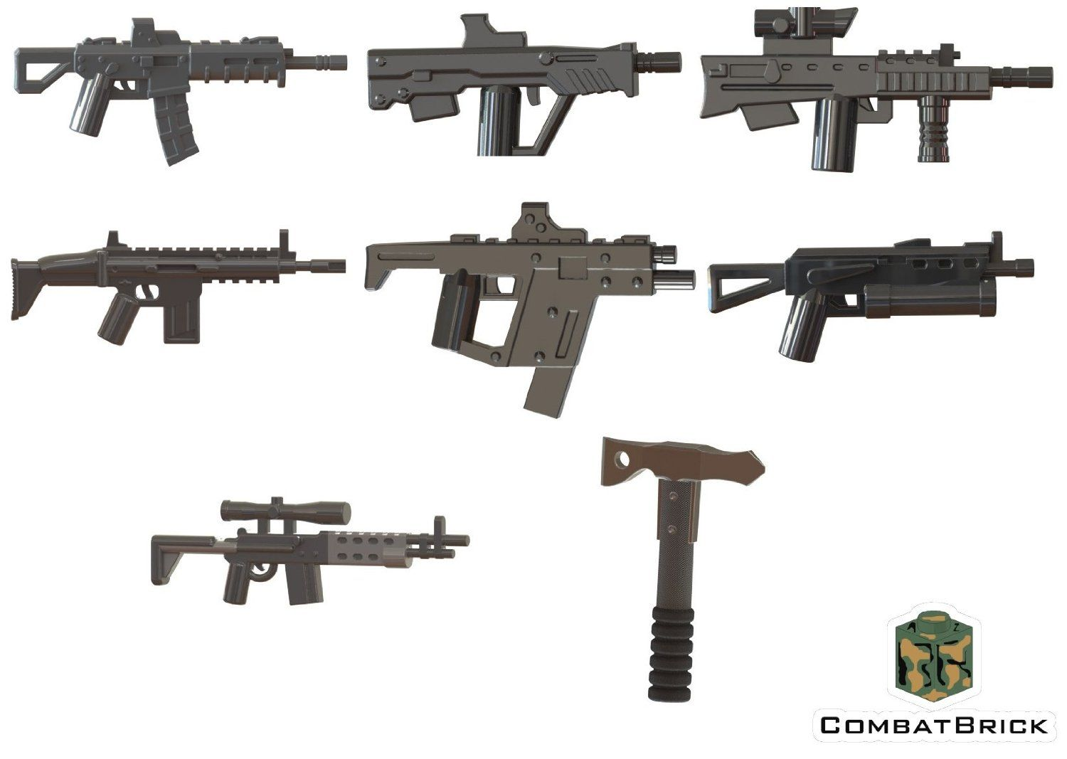 Amazon com: Custom LEGO® Guns - Modern Warfare Weapons 8