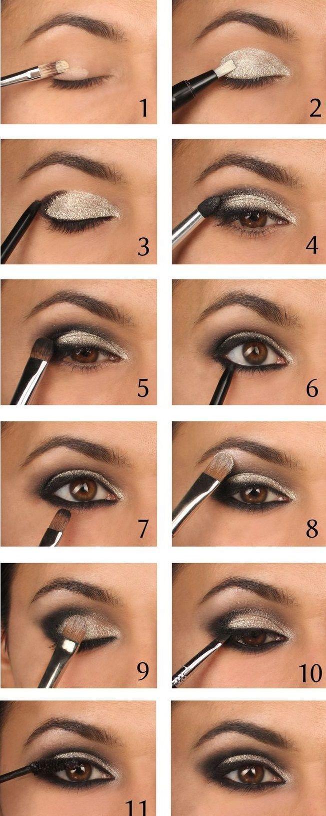 15 Einfache Schritt-für-Schritt-Make-up-Tutorials für Anfänger # Beauty