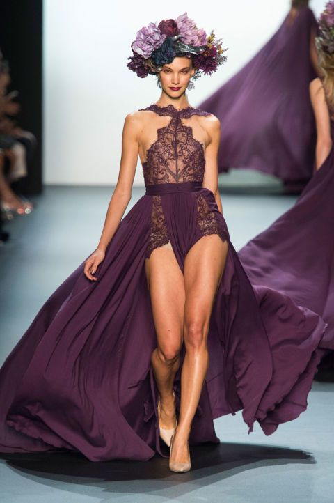 Michael Costello New York fashion week with his spring/summer 2017 show