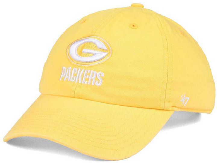 47 Women s Green Bay Packers Pastel Clean Up Cap 914a20e0422c