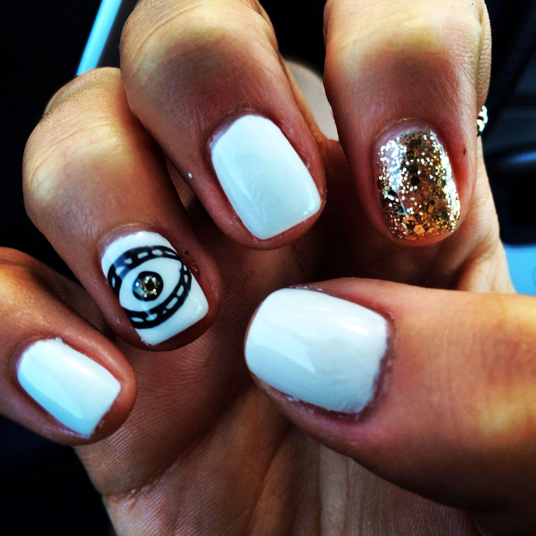 Evil eye nail design | Manicures for meehh | Pinterest | Evil eye ...