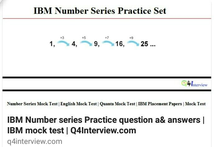 Ibm Previous Placement Papers Pdf