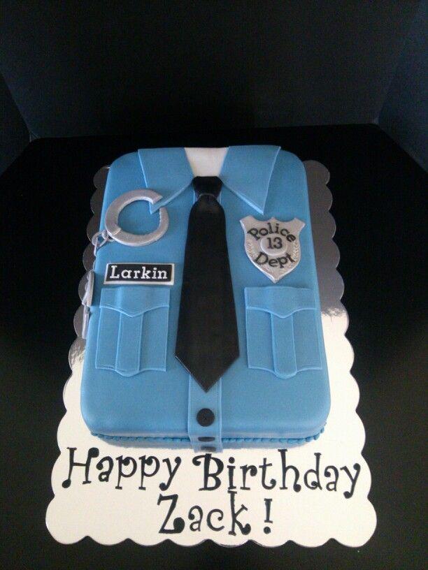 Policeman Cake Police Cakesretirement