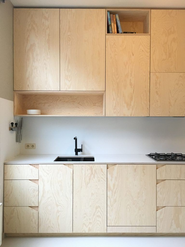 Stylish Ideas Plywood Kitchen Cabinets Kitchen Design Plywood Pine Black Kitchen Tap Diy Furnitu Cuisine Design Moderne Cuisines Design Cuisine En Contreplaque