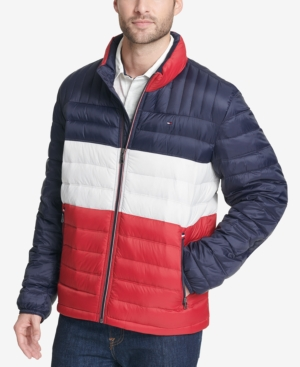 78f66ad40 Tommy Hilfiger Men's Big & Tall Packable Down Puffer Coat - Blue 3XT ...