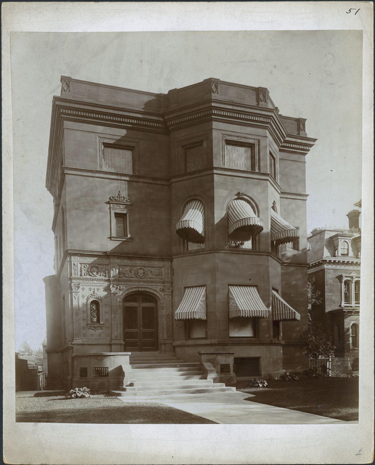Mrs. Adelaide Campau Thompson Residence, 842 E. Jefferson