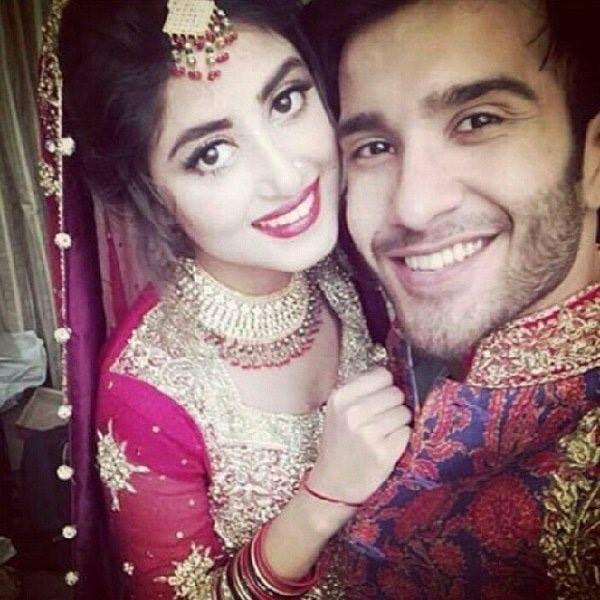 sajal ali and feroz khan | Sajal ali, Bridal and groom pics, Feroz khan