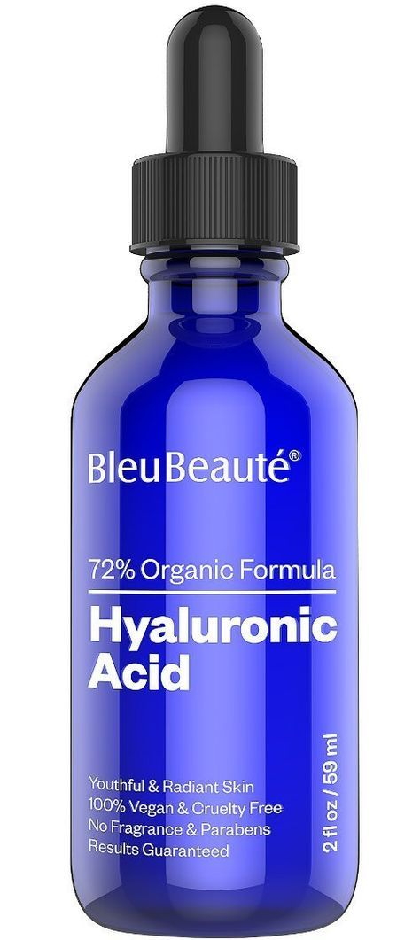 Hyaluronic Acid Serum - dark spot removing facial serum for Anti aging and anti-wrinkle ( Big 2 Oz) Nutra-Lift 676896000020 Herbal NonSoap Cleanser4 oz