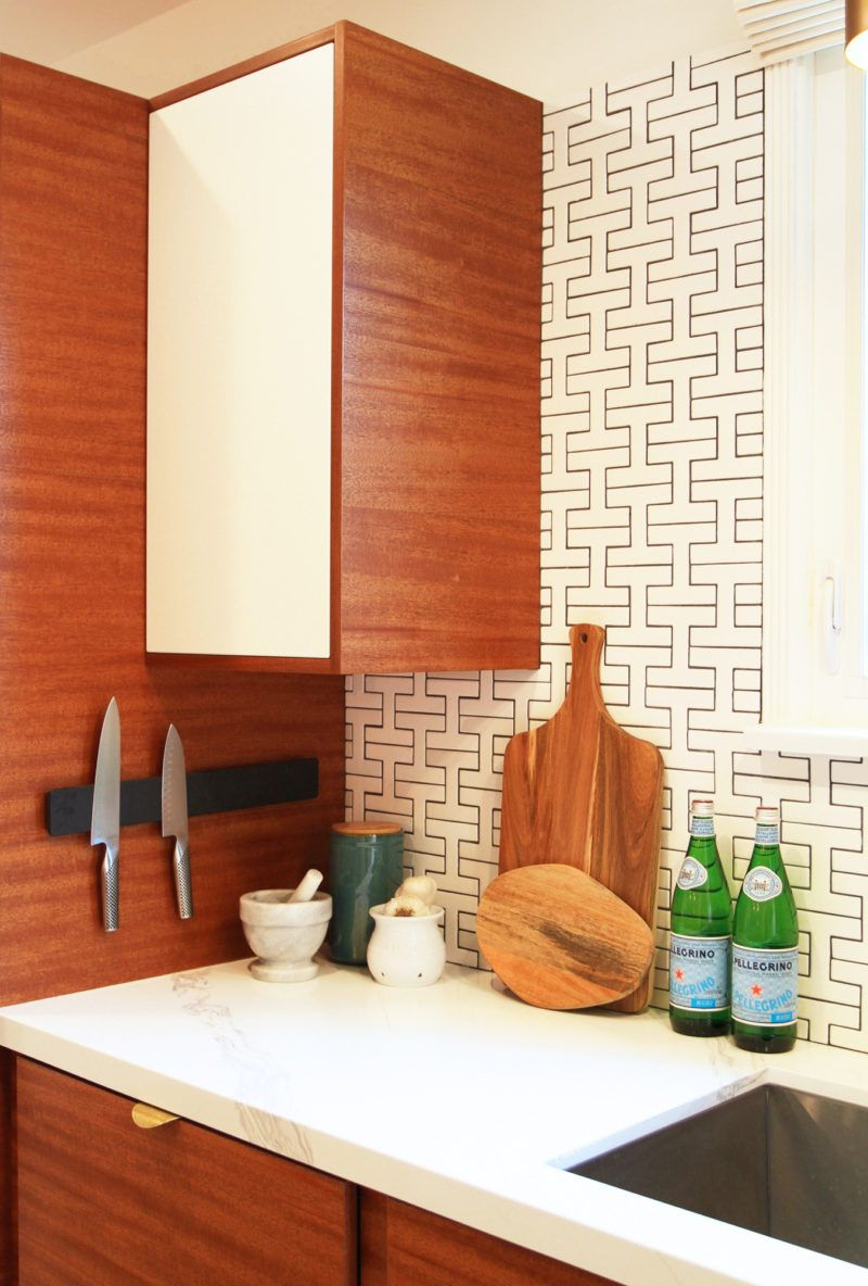 fireclay tile patterned kitchen tiles