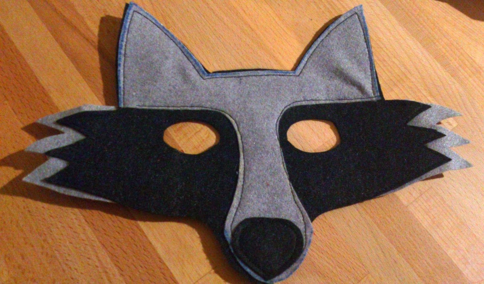 máscara de lobo | Disfraces. | Pinterest