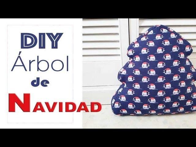 DIY ARBOL DE NAVIDAD 3D EN TELA   3d, Tela y Navidad