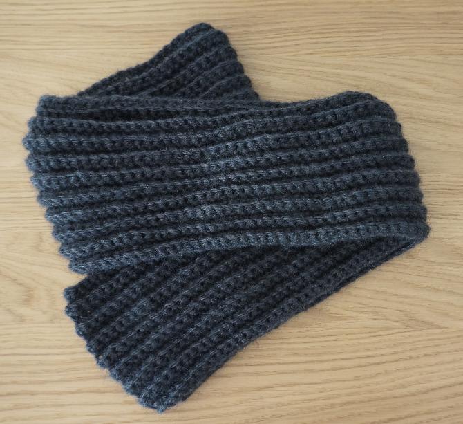 Petite maille le crochet c 39 est pas ringard mon charpe au crochet id al d butants - Monter mailles tricot debutant ...
