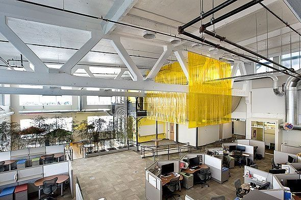 google office in pittsburgh. The 15 Coolest Offices In Tech: Google Pittsburgh Office Tour T