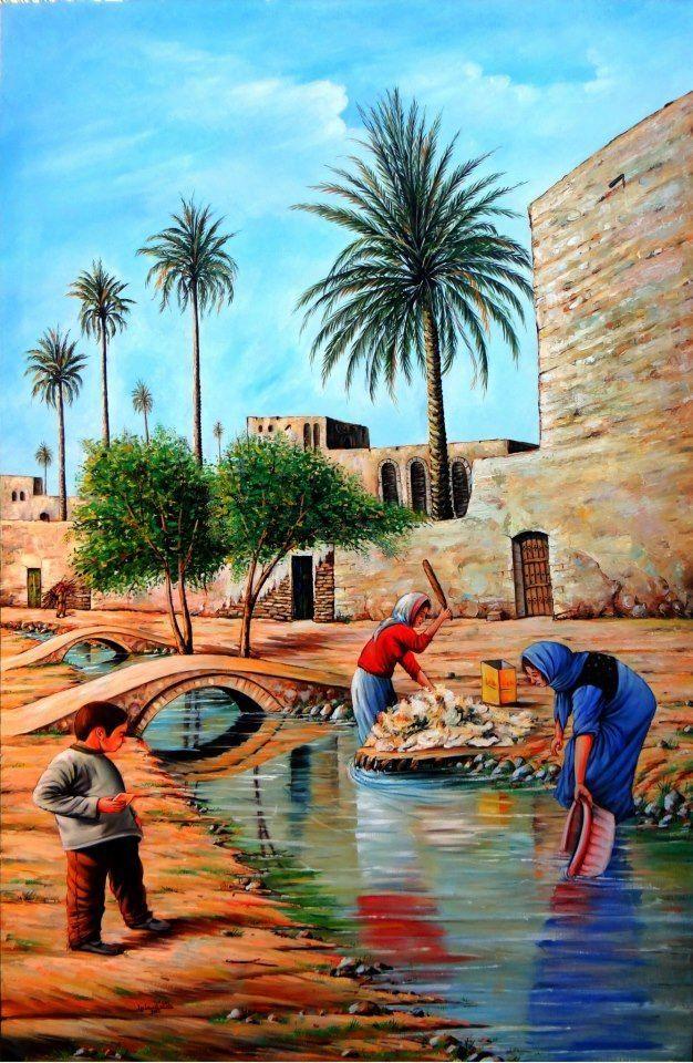 السومري On Twitter Watercolor Art Posters Egyptian Painting Arabian Art