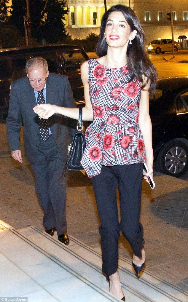 new photos of amal clooney | Amal Clooney Style | A blog about