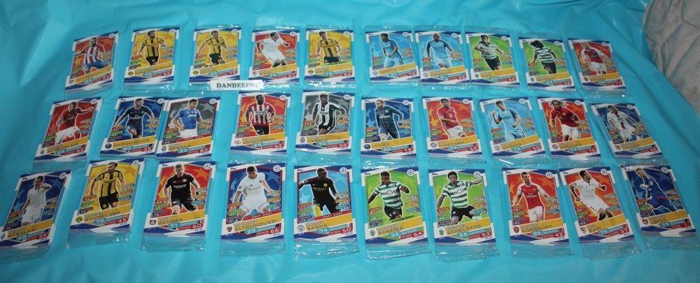 Topps Match Attax Soccer Uefa Champions League Trading Card 30 Packs Set 2 330 Match Attax Uefa Champions League Champions League