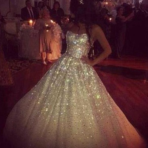 Best 25+ Glitter Wedding Dresses Ideas On Pinterest