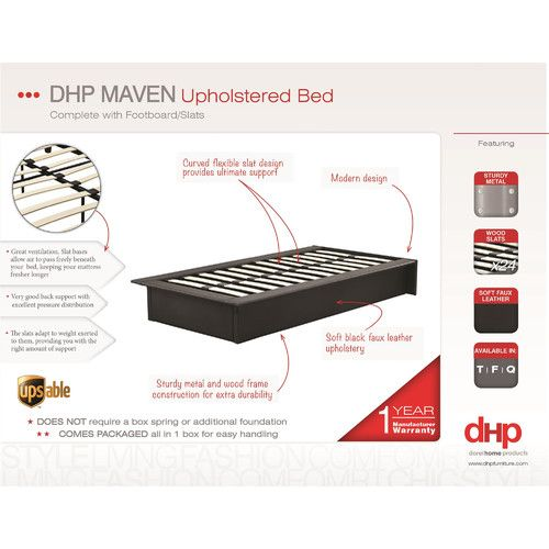 Found it at Wayfair - Maven Platform Bed