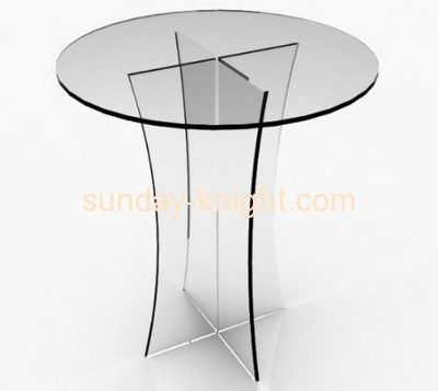 Chinese furniture manufacturers wholesale acrylic round dining table