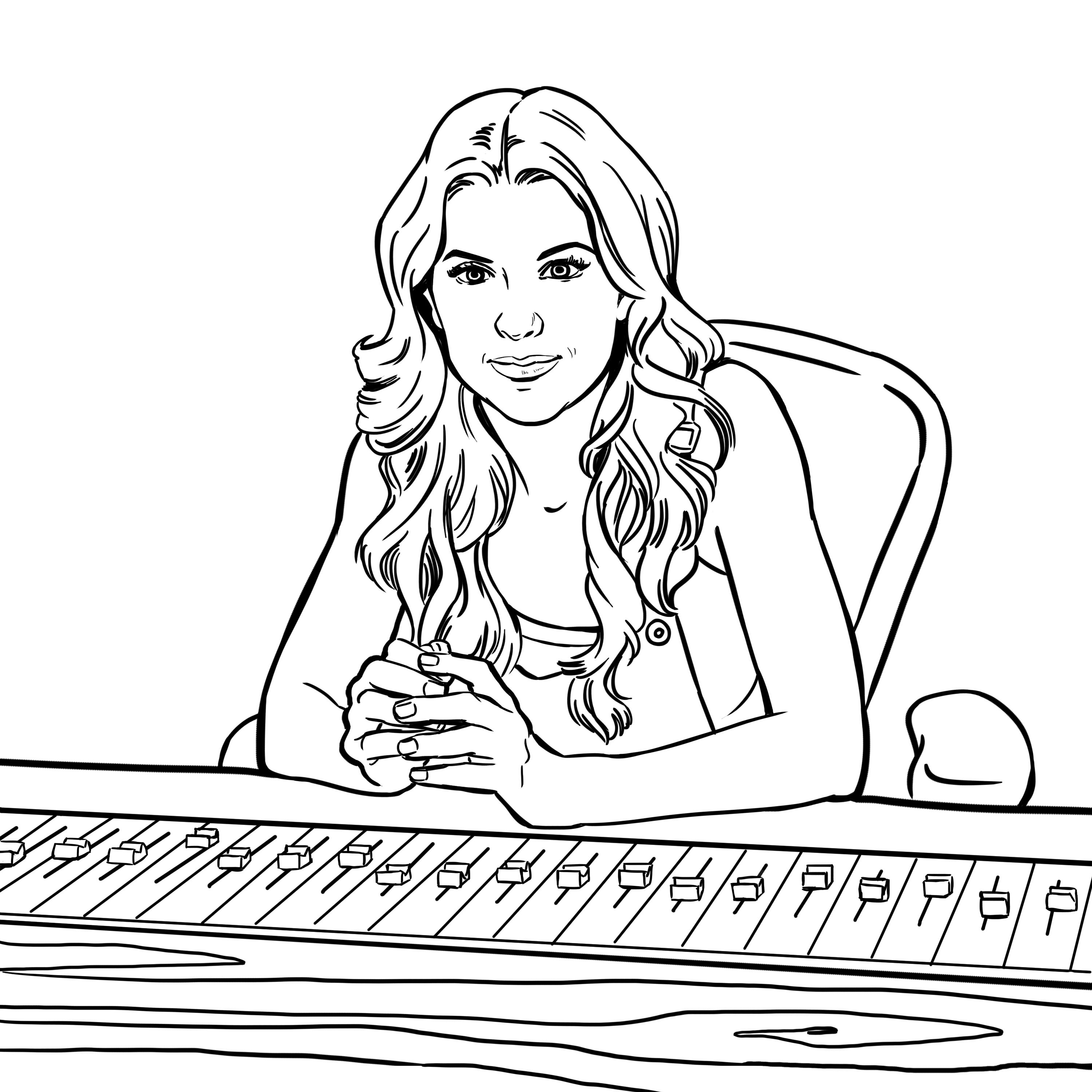 Pin Van Pitch Perfect Op Bellas Coloring Pages