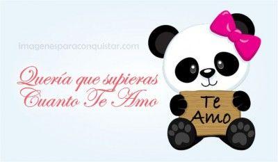 Dibujos Tiernos Para Enamorar De Ositos Panda Gret Pinterest
