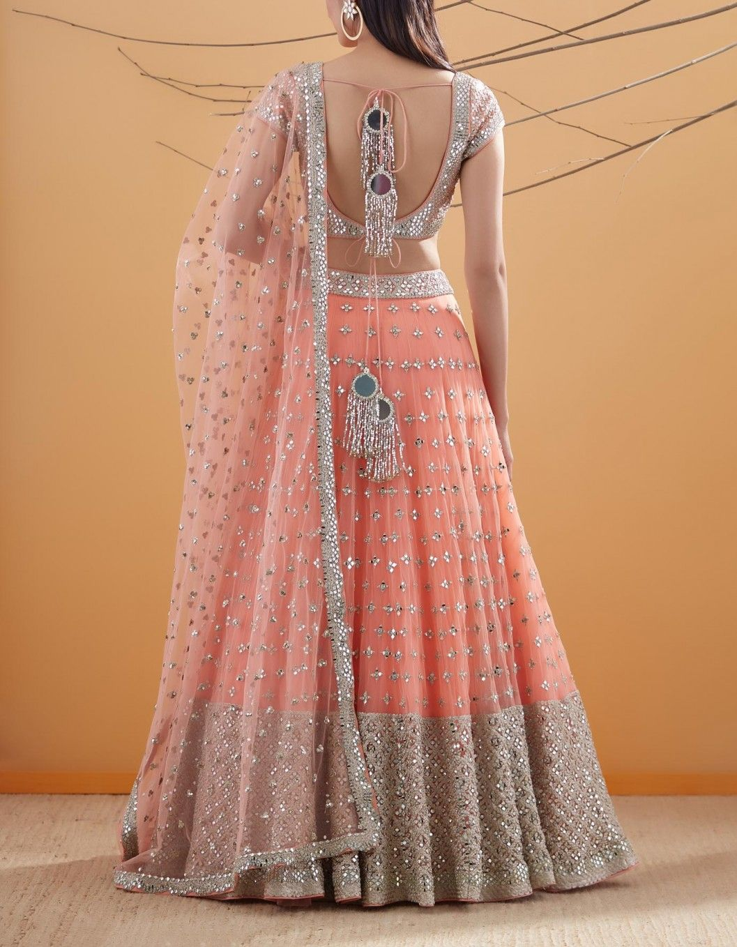 Abhinav Mishra's Mirror Work Lehengas Are Here, And They Are ...