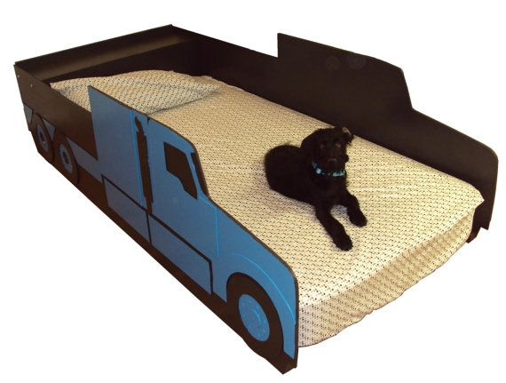 Semi Tractor Truck Twin Kids Bed Frame #FreightCenter