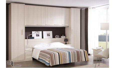 Recamaras matrimoniales closet con cama incluida buscar - Muebles para dormitorios matrimoniales ...
