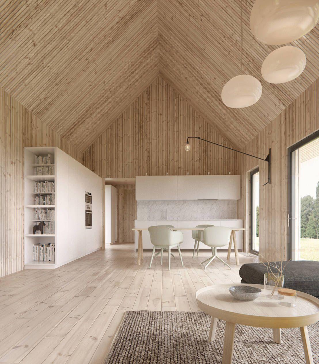 6 architetti per 6 stili diversi Arquitectura Casas y Techo madera