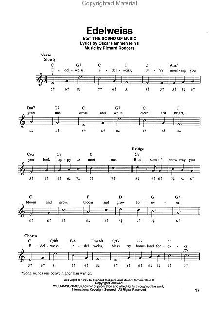 Edelweiss - The Great Harmonica Songbook | Music Lessons | Pinterest ...