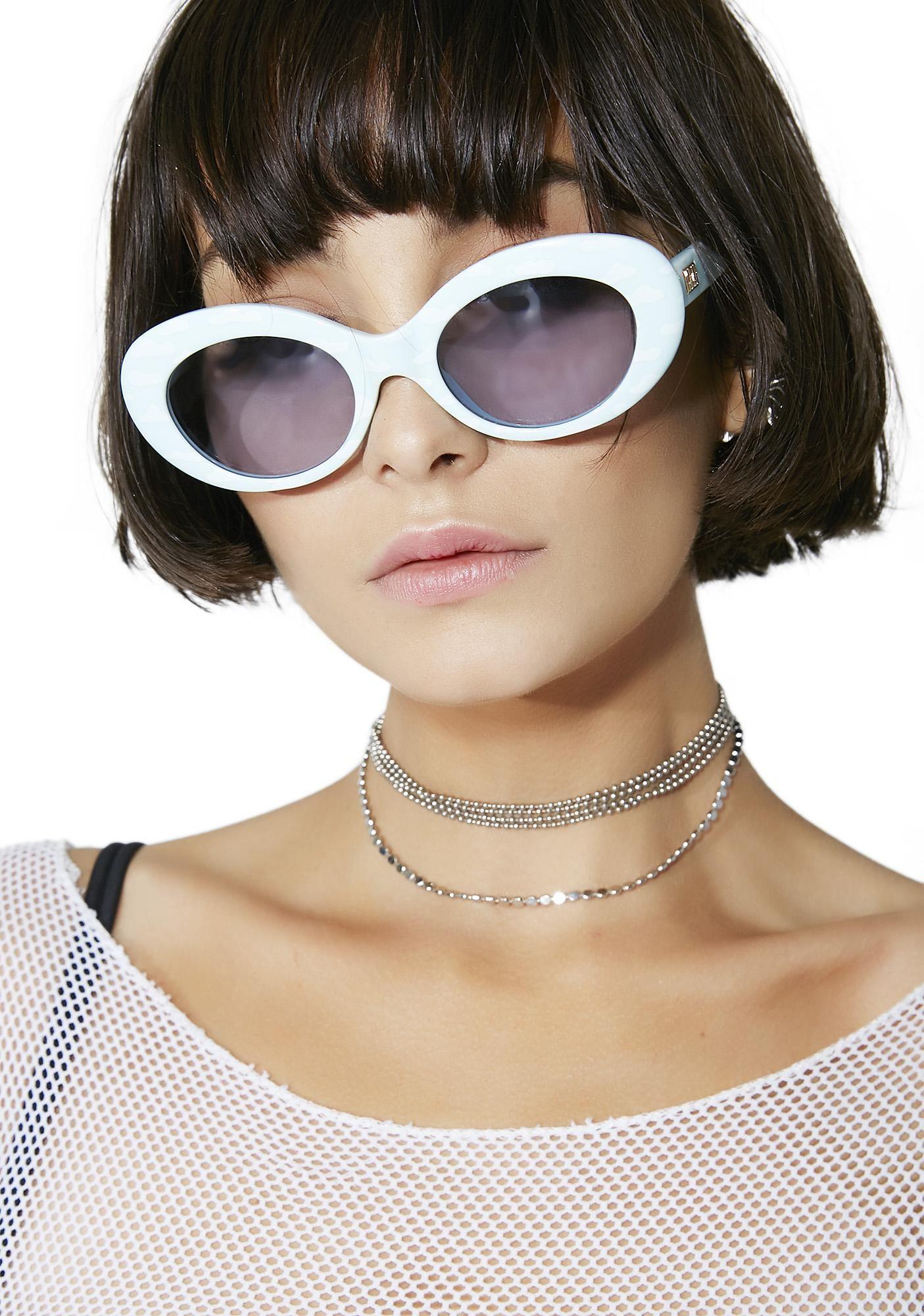 5038ce7b7e Crap Eyewear The Love Tempo Sky Sunglasses yew can t help havin  yer head